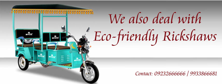 Eco-friendly Rickshaws